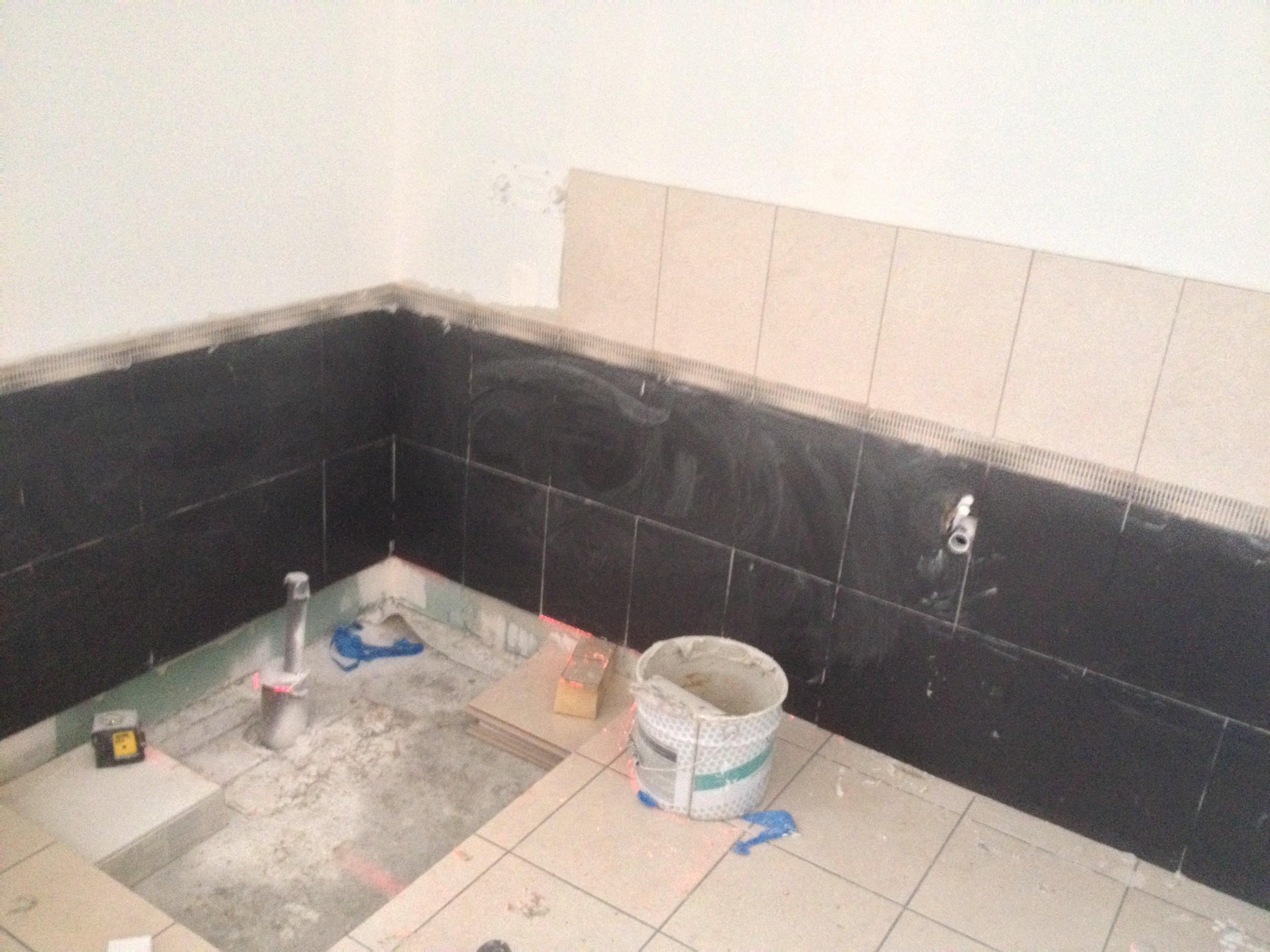 Constructionmaison33 for Poser de la faience dans une salle de bain